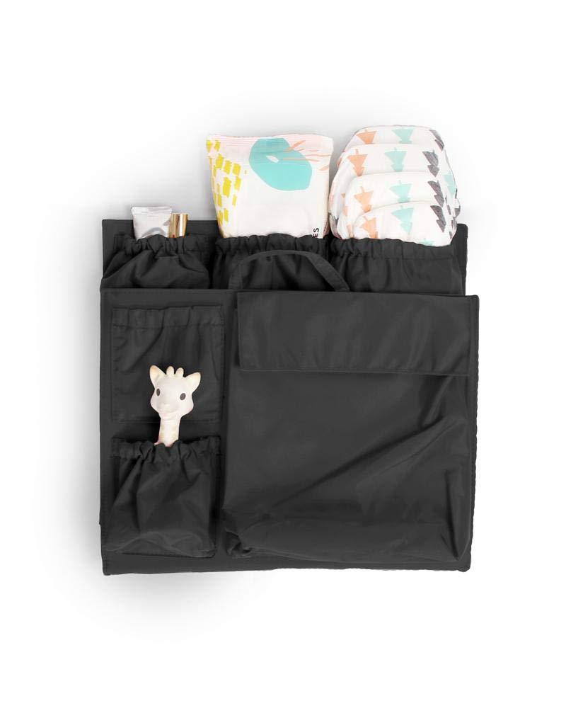 ToteSavvy - Handbag Organizer - Diaper Bag Organizer Insert (Original, Black)