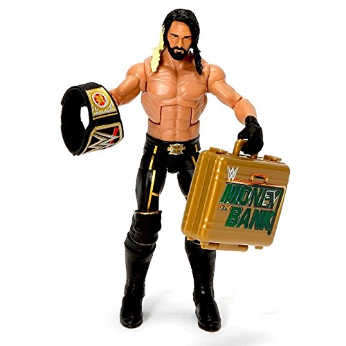 Price comparison product image WWE, Elite Collection Wrestlemania 31, Seth Rollins Action Figure