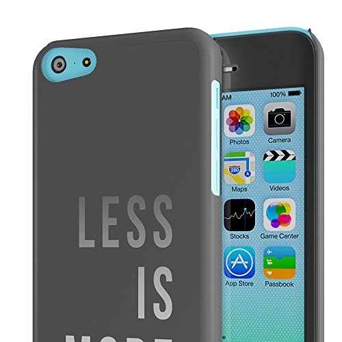 Koveru Back Cover Case for Apple iPhone 5C - Less is more