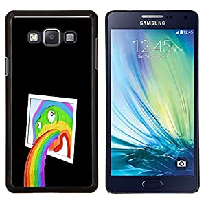 Smartphone Duro PC Carcasa para Samsung Galaxy A7 A7000/funda TECELL tienda/chistosa mielofibrosis porteo Rainbow