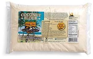 Amazon.com : Aloha Nu Certified Organic Coconut Flour, 80