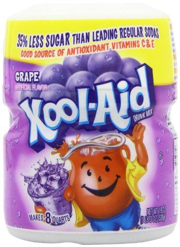 Kool-Aid Grape Soft Drink Mix 19 oz