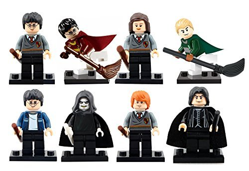 Inspired Block Set by Generic | Hermione Granger, Ron Weasley, Draco Malfoy, Lord Voldemort