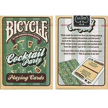 jugando a las cartas Bicycle Cocktail Party Cards by US ...