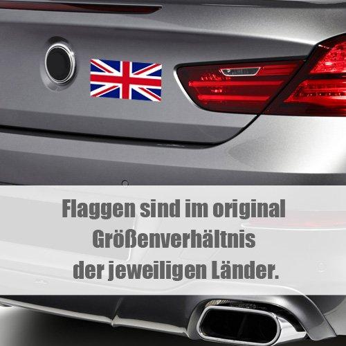 Land Staat Autoaufkleber Flagge L/änder Wappen Fahne Sticker Kennzeichen KIWISTAR Aufkleber 4,5 x 2,7 cm Deutsch-T/ürkisch