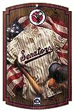 Washington Senators Cooperstown Collection MLB 11 x 17inch wood Sign