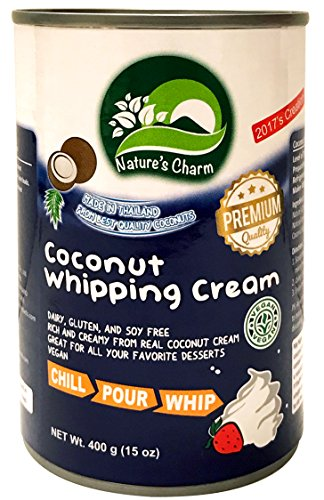 - Nature's Charm Coconut Whipping Cream (6 pack)