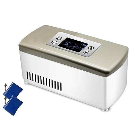 LXMBox Nevera insulina portatil pequeña, Mini refrigerador para ...