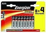 Photo : Energizer Max alkaline AAA 8+4 Free [EN-E300112200]