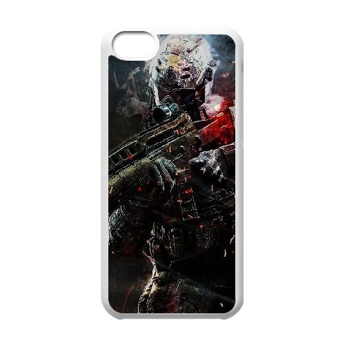 Call Of Duty R4G77D1BF coque iPhone 5c case coque white Y61446