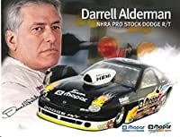 DARRELL ALDERMAN (NHRA PRO STOCK DODGE R/T) Signed 11 x 8.5 Color Promo - Autographed Sports Photos by Sports Memorabilia