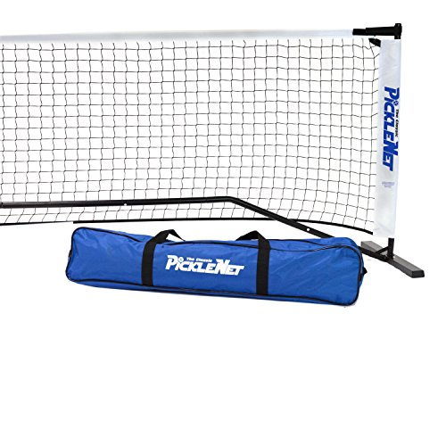 Classic PickleNet Pickleball Net System (Set Includes Metal Frame and Net in Carry Bag) by Oncourt Offcourt (Image #1)