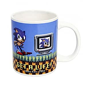 Sonic The Hedgehog PP2286SN - Taza, diseño de Sonic - Taza Get a Life