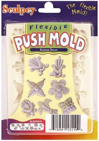 Sculpey Flexible Sconce Decor Push Mold