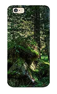 JjETDon2092Rhzap Awesome Mossy Rocks In The Woods Flip Case With Fashion Design Samsung Galaxy Note4 As New Year's Day's Gift WANGJING JINDA