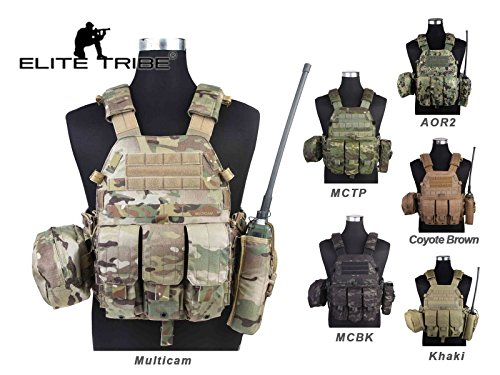 AIRSOFT MILITARY COMBAT MOLLE Weste Tactical lbt6094 a Stil Plate Carrier Weste Cordura Coyote Brown