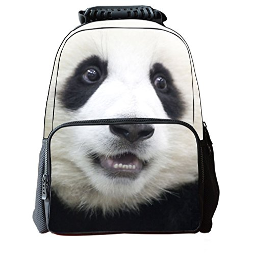 Shineflow - Bolso de Mochila Mujer niña Hombre Niño Panda