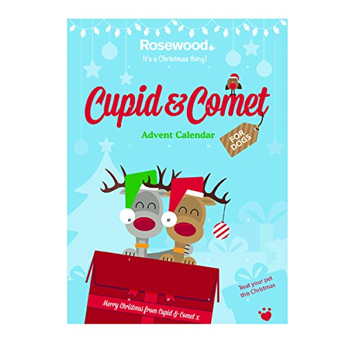 Rosewood Cupid and Comet Christmas Advent Treat Calendar for Dogs 70g