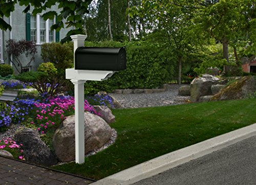 Zippity Outdoor Products ZP19010 Rockport Mailbox Post wi...