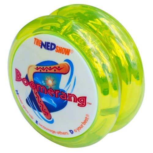 Boomerang Yo-Yo (Yellow) by NED®