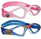 Aqua Sphere Kayenne Junior Kids Swim Goggle Eyewear, BL-PK-CLS