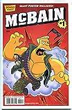McBAIN #1, NM, w/ Poster, Simpsons, Bart, 2014, more Bongo in store