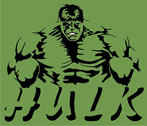 RT834 Incredible Hulk Marvel Comics Full Color Vinyl Decal | Use on Yeti Cup Cooler Truck Jeep Window Boat Toolbox Tackle box Laptop Mirror | 5