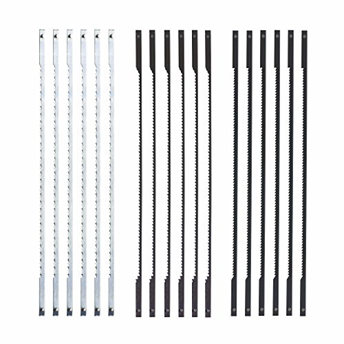 (SKIL 80181 Scroll Saw Blade Set, 18 Piece)
