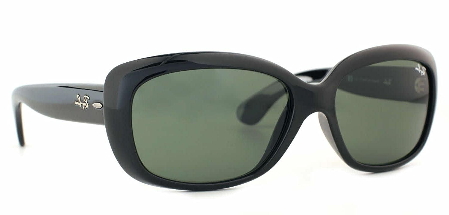 4a22a8a459 Ray Ban RB4098 Jackie Ohh II 601 8G Shiny Black Sunglasses  Amazon.ca   Clothing   Accessories