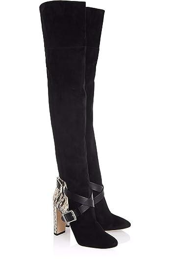 Damen Boots Overknees Hnm Langschaftstiefel Oberschenkel jpqMLzUSVG