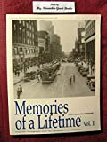 img - for Memories of a Lifetime, Vol. II (2) book / textbook / text book