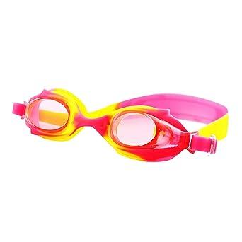 Amazon.com: Gafas de natación para niños antivaho con ...