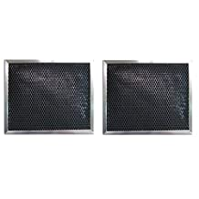2 PACK BPSF30 99010308 QS WS Broan Range Hood Charcoal Carbon Filter Replacements