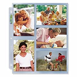 Ultra PRO 3x5 Photo Page 25ct. Pack for 8.5'' x 11'' Album