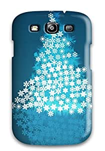 Galaxy S3 Hard Back With Bumper Silicone Gel Tpu Case Cover Christmas 2