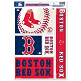 WinCraft Boston Red Sox Official MLB 11 inch x 17 inch Car Window Cling Decal by