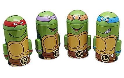 Amazon.com: teenage mutant ninja turtles estaño banco de la ...