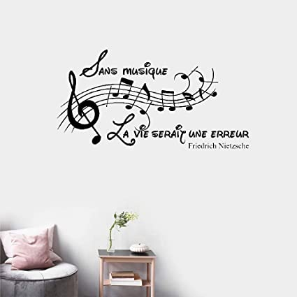 Amazon Com Quotes Art Decals Vinyl Removable Wall Stickers