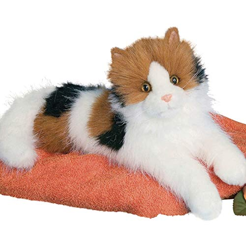 (Cuddle Toys 2030 48 cm Long Puzzle Calico Cat Plush Toy)