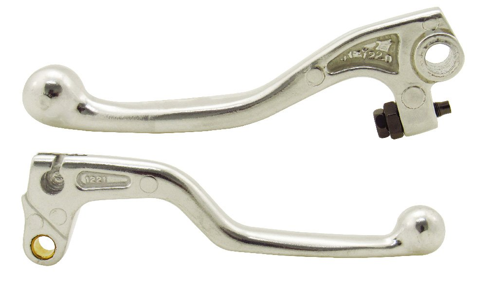 Outlaw Racing 710020 OEM Style Clutch and Brake Lever Grip Set Polished