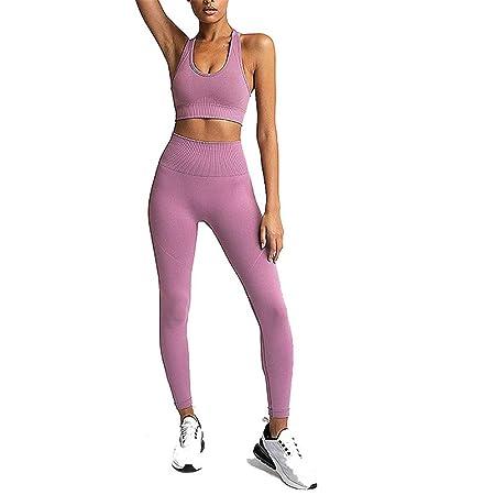 Mujeres Conjunto de Ropa de Yoga, Conjunto de ropa de ...