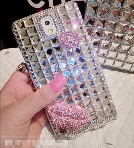 Luxury Bling Crystal Rhinestone Diamond Hard Back Case Cover for Samsung Galaxy Note Edge N9150