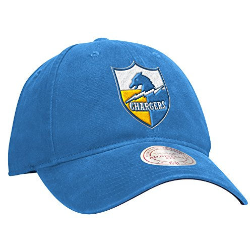 Mitchell & Ness San Diego Chargers NFL Throwback Felt Logo Slouch Adjustable Hat