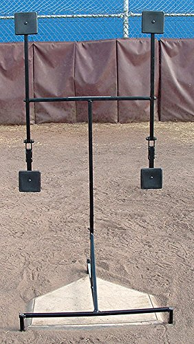 The Strike Plate Baseball Pitching Target Trainer (Plate Pitchers Mound Home)