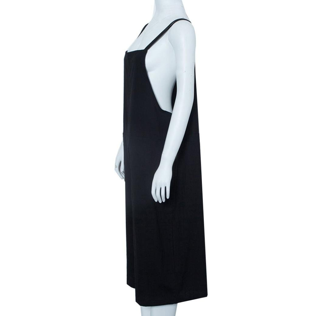 cbd8d07eb074 Amazon.com  SCSAlgin blouse Women Wide Leg Pants Dungarees Casual Jumpsuits  Pocket Sling Trousers Rompers  Clothing