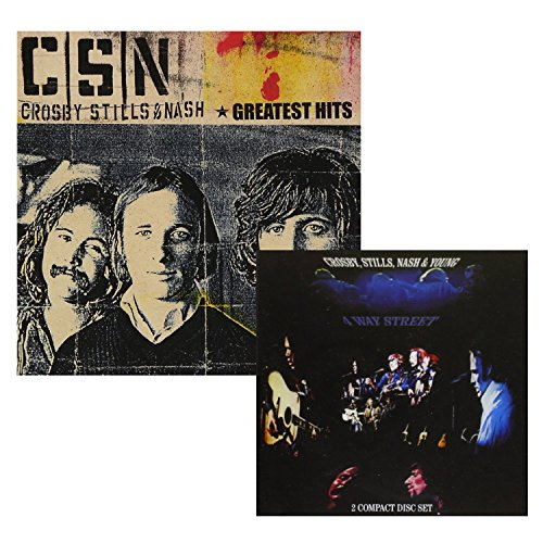 Greatest Hits - 4 Way Street (Greatest Hits Live) - Crosby, Stills, Nash & Young - 2 CD Album Bundling (Crosby Stills Nash And Young Box Set)