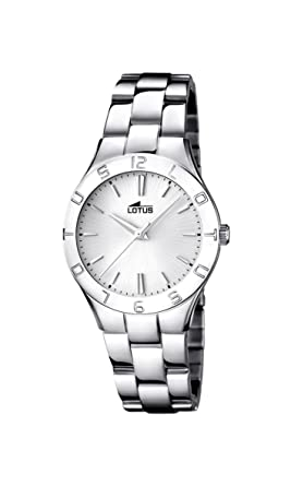 Ladys Watch - Lotus - Stainless Steel Band - 15895/1