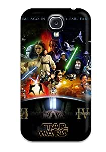 High Grade MeaganSCleveland Flexible Tpu Case For Galaxy S4 - Star Wars