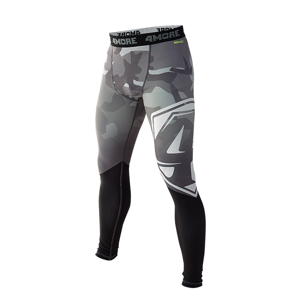 K2 - Herren Trainingshose, Kampfsport Kompressionshose, Sporthose /'COMPACT/' React 4More/®