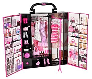 Barbie - El armario de Barbie, muñeca y accesorios (Mattel X5357)